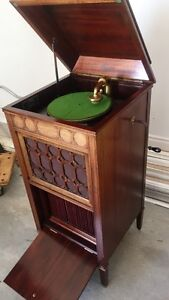 antique phonograph gramophone Edison A100 working (sold)