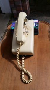 Bell - Northern Electric Cream Rotary Dial Telephone