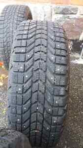 Winterforce 205/55 R16 Studded Winter Tires