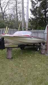 Boat and trailer for 1200$ West Island Greater Montréal image 4