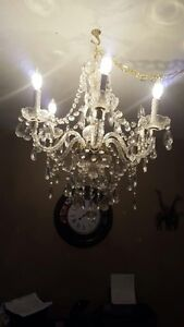 Gorgeous chandeliers