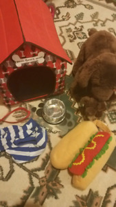Build-a-Bear dogs and accessories