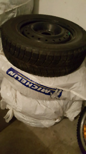 Winter tires on rims 195-65-15