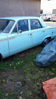 Wanted: 1963 Valiant Parts