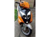 Sukida 125cc moped