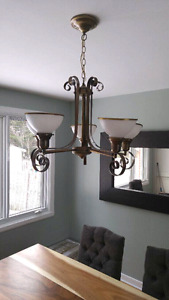 Bronze original ceiling lamp