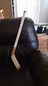 1970s Habs hockey stick