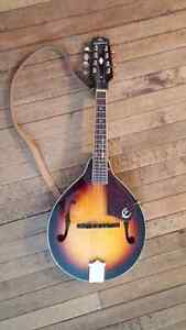 Epiphone Electric acoustic mandolin with hardshell case