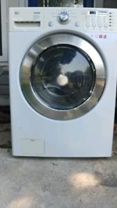 LG tromm large-capacity front load washer and dryer