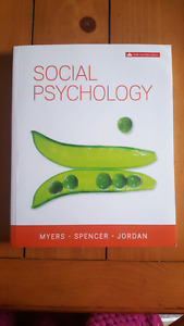 Social Psychology sixth Canadian edition