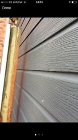 Anthracite embossed double cladding with extras.