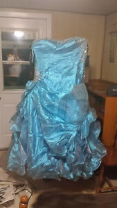 Blue Ballgown worn for 5 hours for Prom size 22 $200 obo