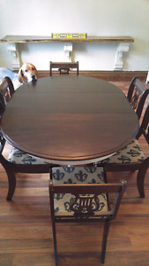 Dining table and chairs *updated*