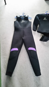 Women's Atlan Cold Water Wetsuit,  7mm  with Jacket