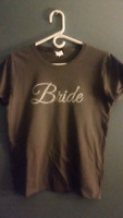 Custom T-SHIRTS available Bride, groom & wedding party!