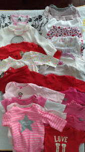 Baby Girl Clothes 0-3 and 3 Months