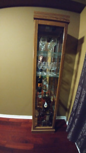 Selling Large Sideboard Glass Display Cabinet