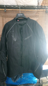 Men's Size Med Technic Power Skin Bike Jacket