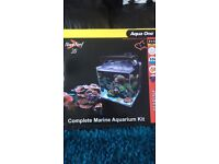 Aqua nano reef 35 complete marine fish tank setup