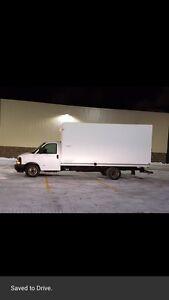 Chevy Express 3500 cube van