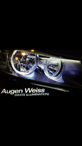BMW ANGEL EYES - (WEISSLICHT) *NEW*