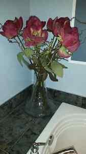 Pot vase fleurs- Hauteur du pot : 16 Po.
