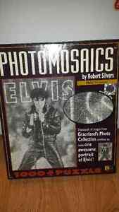ELVIS PHOTOMASAICS PUZZLE ALL PIECES INCLUDED