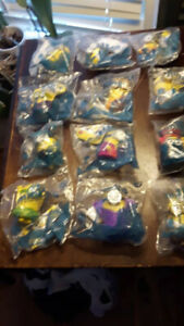 Mint in Bag Mc'Donalds 1995  Minion Set of Figures from Movie