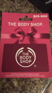 Body Shop Giftcard