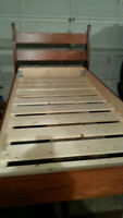 Twin Extra Long Bed Frame