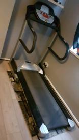 Gym style professional treadmill