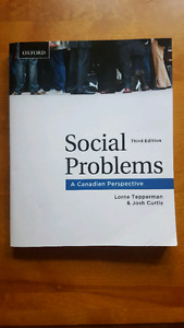 Social Problems a Canadian Perspective 3rd edition