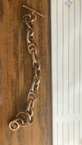 Authentic rose gold Michael Kors bracelet