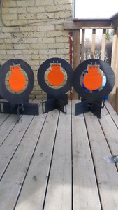 Swinging/ self standing/ collapsible rifle targets