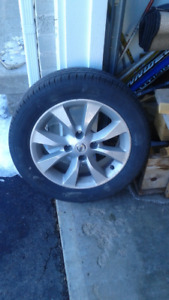 All-season tires and rims for sale