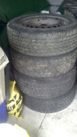 TIRES (WINTER) WITH RIMS