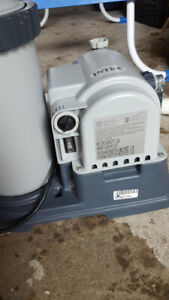 POOL PUMP and ACCESSORIES