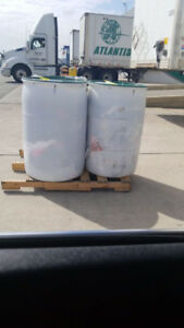 Flood relief , seasonal , 50 gallons shipping barrels