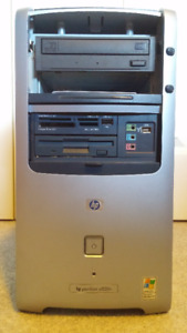 HP Pavilion a520n tower with Windows XP Home Edition/SP3.