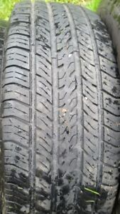 "Set of 4-215/65/16""  Michelin Tires,(mud&snow)"
