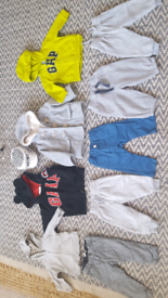 Bundle baby boy 9-12 months clothes only £5