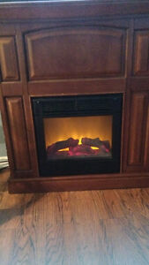 Electric Fireplace for $100 (Incl. Delivery)