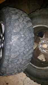 Jeep rubicon rims and tires. 17 inch London Ontario image 2