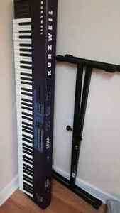 Kurzweil SP88 full keyboard synth with stand
