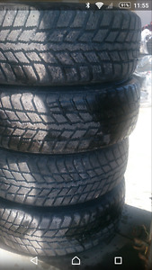 205/60R16 snow tires from mazda 6.