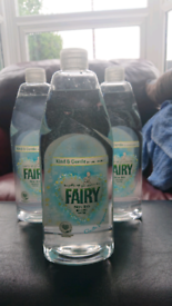 Fairy ironing water 50p each