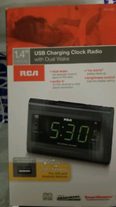 Clock Radio- usb charging