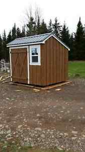 Solid Rough Lumber Mini Barns and More