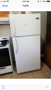 1 month old  fridgeaire  fridge