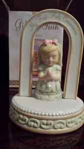 Russ Berrie First communion  girls figurine